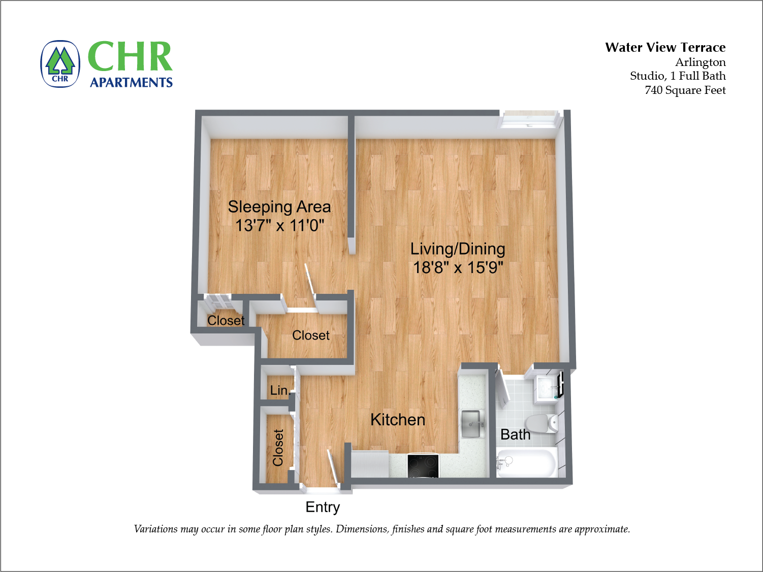 Floor plan Studio Suite image 1