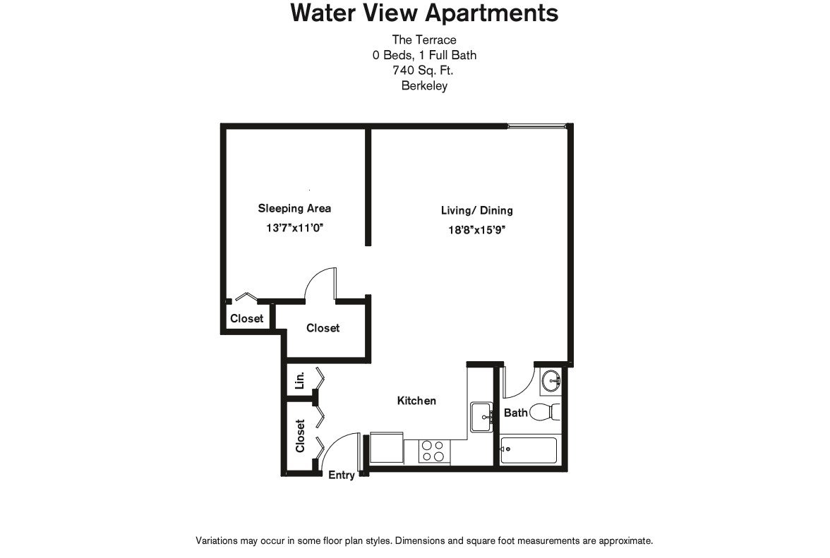 Floor plan Studio Suite image 4