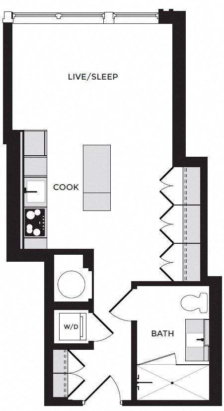 plan image of unit 312