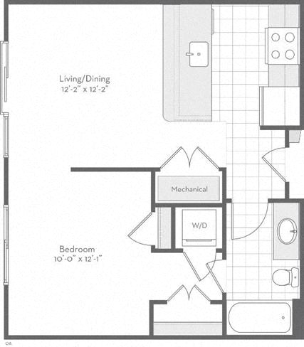 Md baltimore thefitzgerald p0220783 thedaisy569sf 2 floorplan