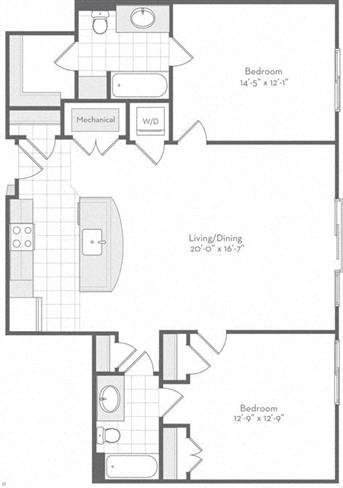 Md baltimore thefitzgerald p0220783 theduncan1199sf 2 floorplan
