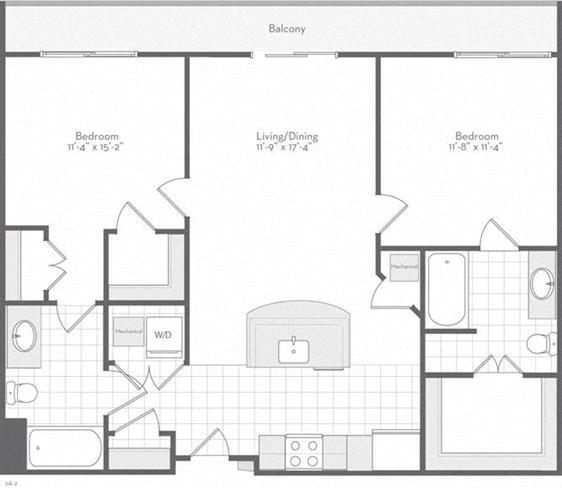 Md baltimore thefitzgerald p0220783 theklipspringer988sf 2 floorplan