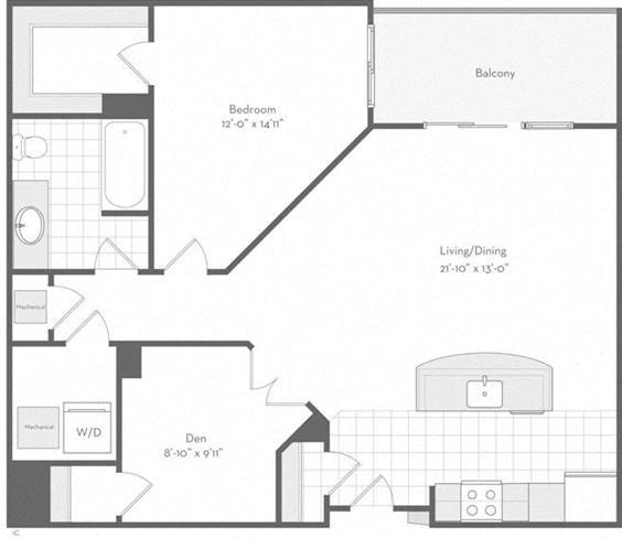 Md baltimore thefitzgerald p0220783 thelanier953sf 2 floorplan