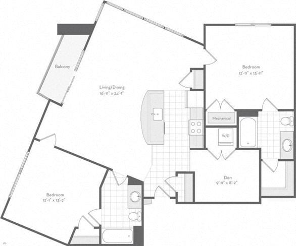 Md baltimore thefitzgerald p0220783 therosalind1275sf 2 floorplan