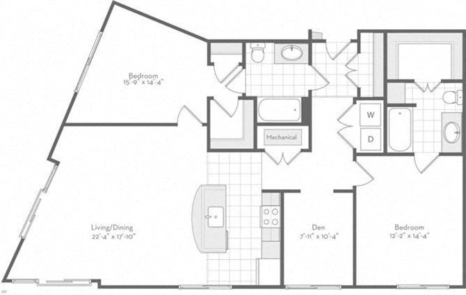 Md baltimore thefitzgerald p0220783 thetopsy1411sf 2 floorplan