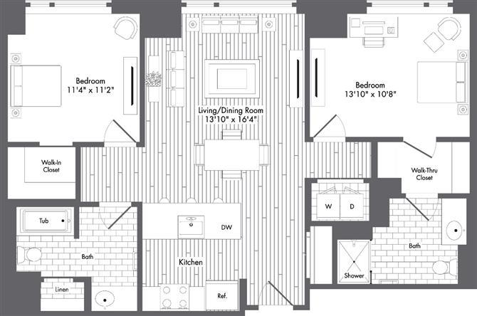 Ma boston watersideplace p0220789 styled1058sf 2 floorplan