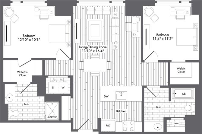 Ma boston watersideplace p0220789 stylef1076sf 2 floorplan
