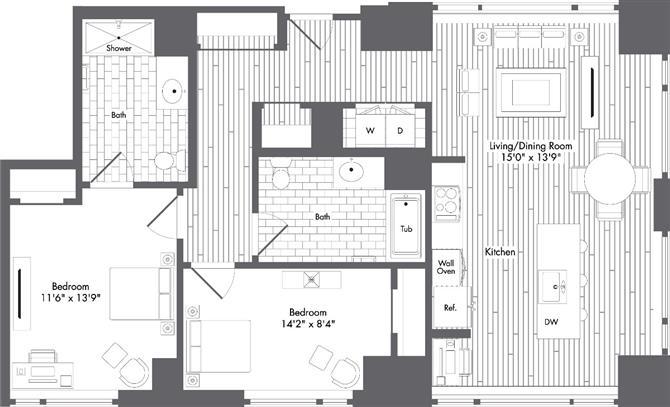 Ma boston watersideplace p0220789 styleh1144sf 2 floorplan