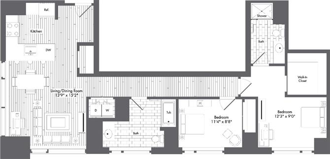 Ma boston watersideplace p0220789 stylep1132sf 2 floorplan