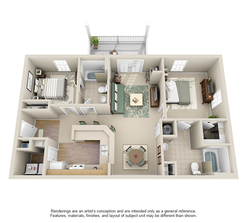 1 Bedroom Apartments In Chattanooga Tn: One, Two And Three Bedroom Apartments In Chattanooga, TN