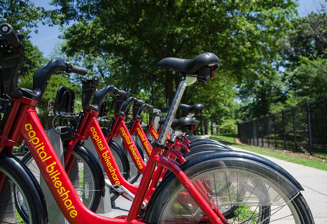2255 Wisconsin Capital Bikeshare in Glover Park