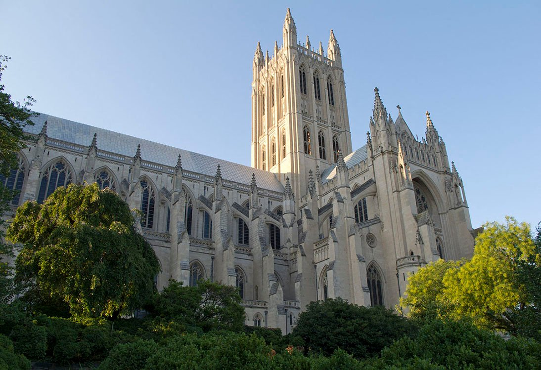 Washington National Cathedral and Gardens near 2255 Wisconsin Apartments