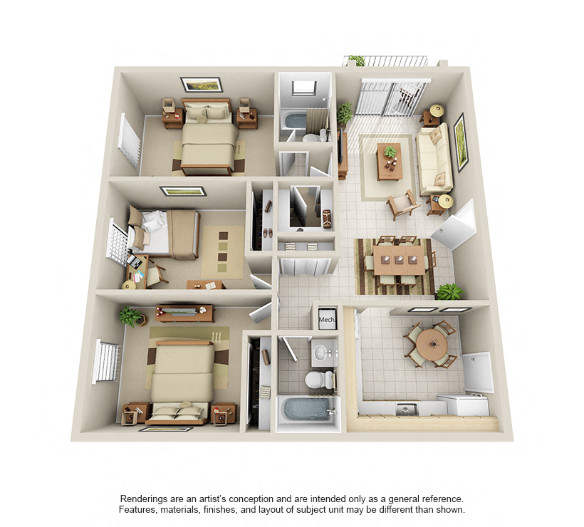 Floorplan Model C Image