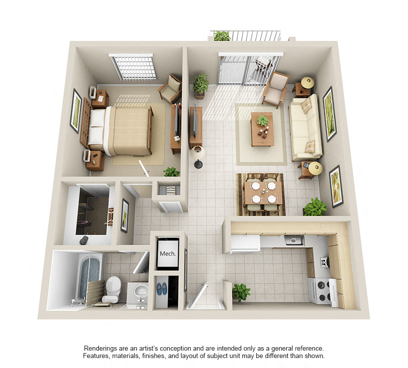 Floorplan Model A Image