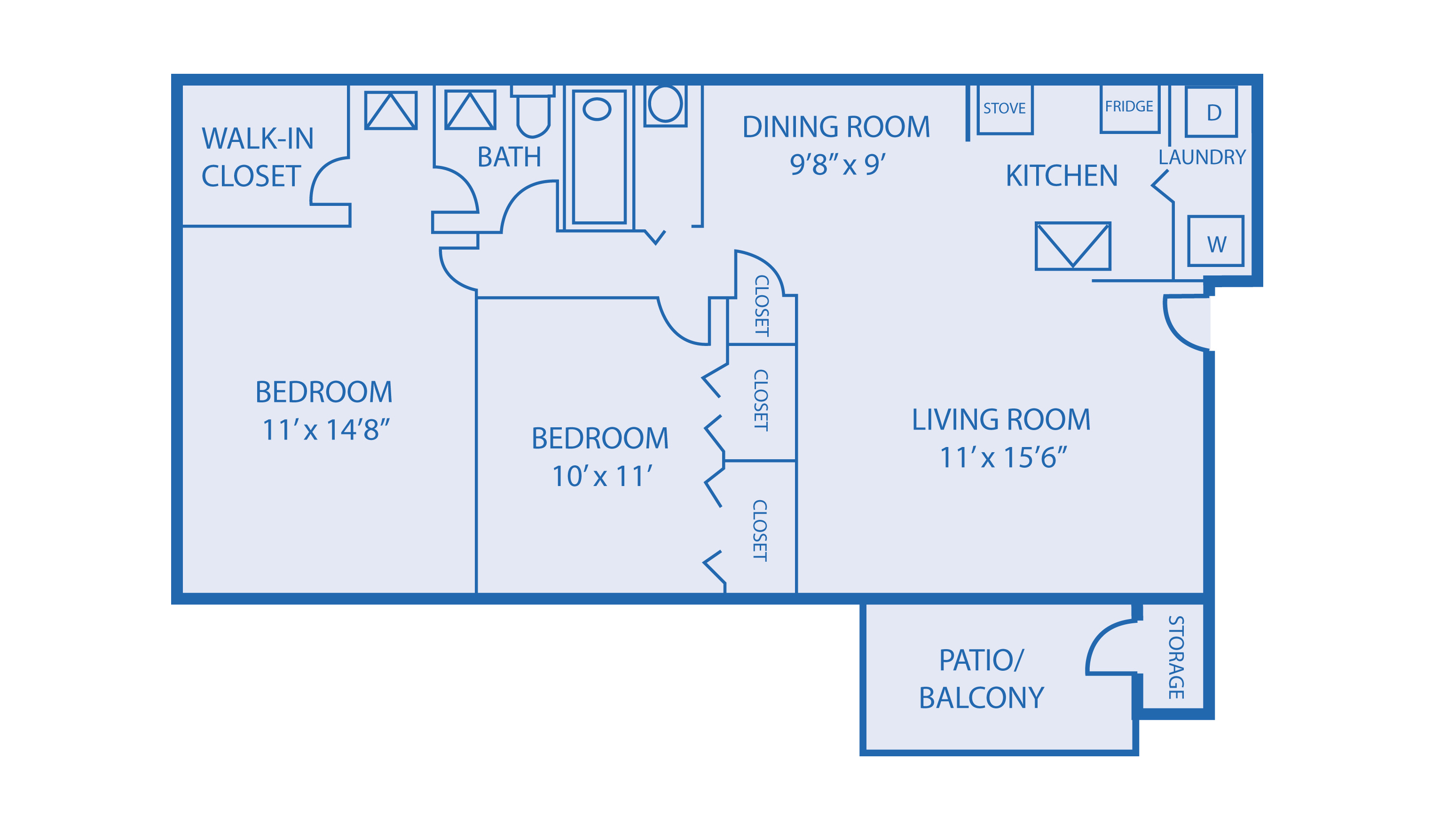 Floorplan Model B1 Image