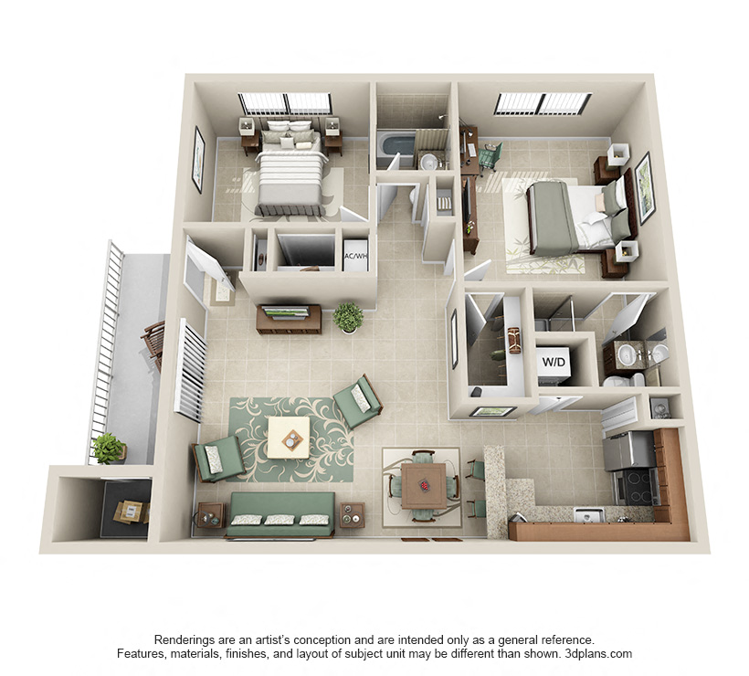 Floorplan Model B3 Image