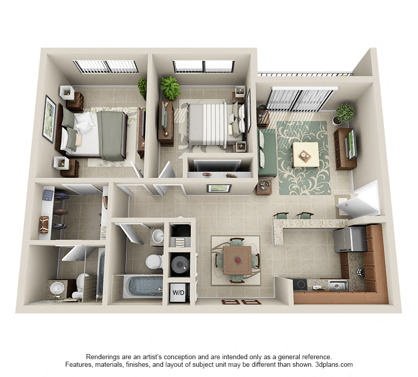 Floorplan Model B2 Image