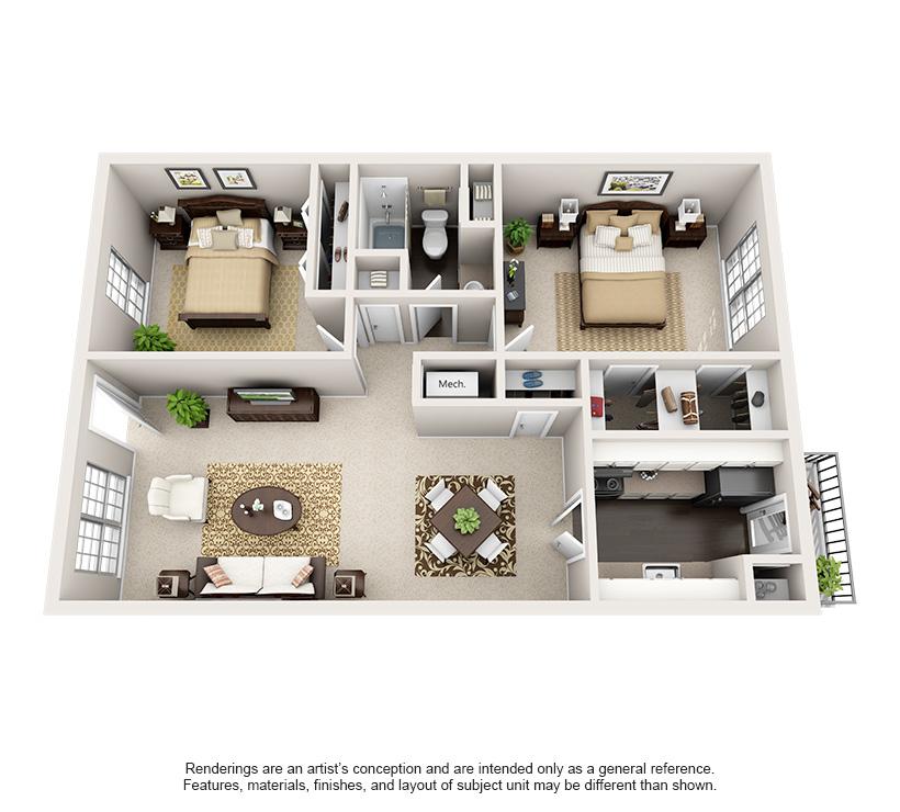 Nob Hill Apartments E