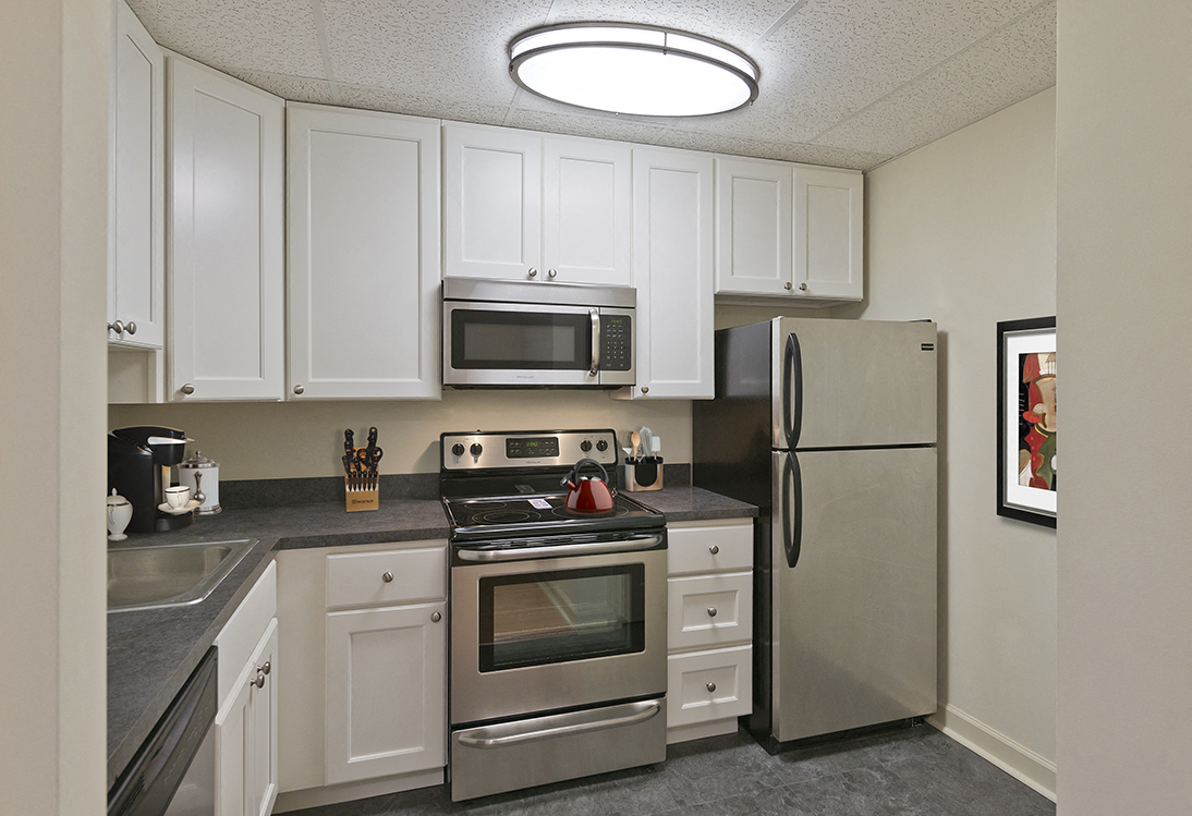 Patuxent Place apartments kitchen