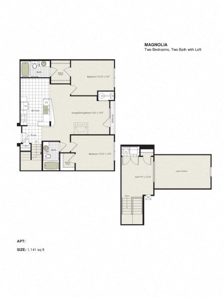 Apartment 1-613 floorplan