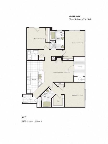 Apartment 4-525 floorplan
