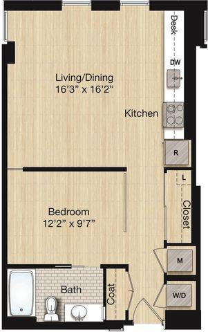 Apartment 1011 floorplan