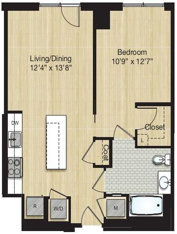 Apartment 1170 floorplan