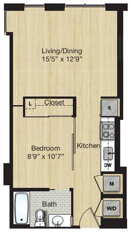 Apartment 1115 floorplan