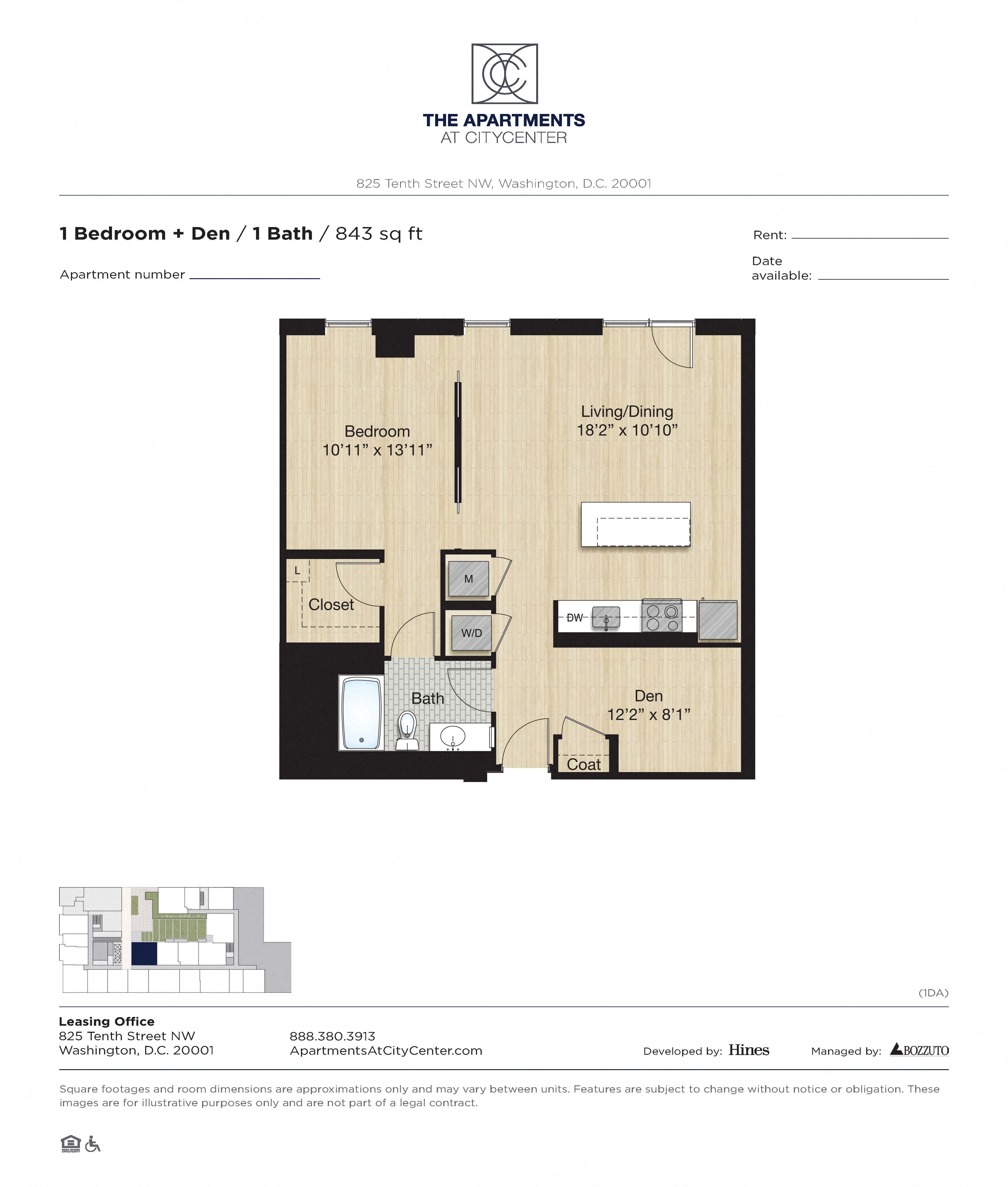 Apartment 0216 floorplan