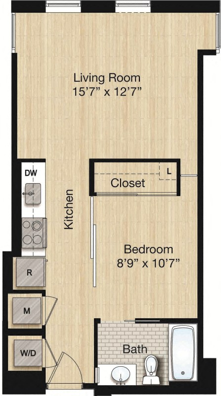 Apartment 0525 floorplan
