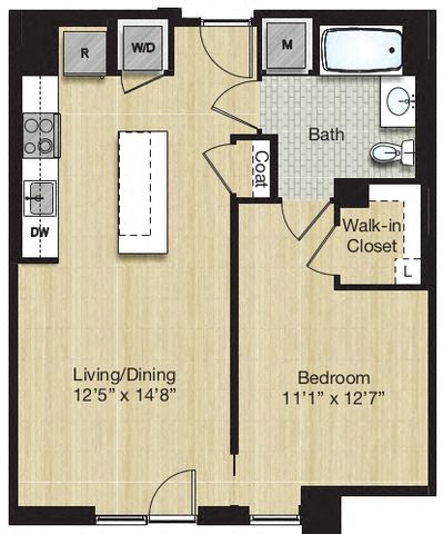 Apartment 0924 floorplan