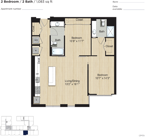 Apartment 0471 floorplan