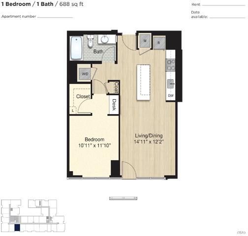 Apartment 0563 floorplan
