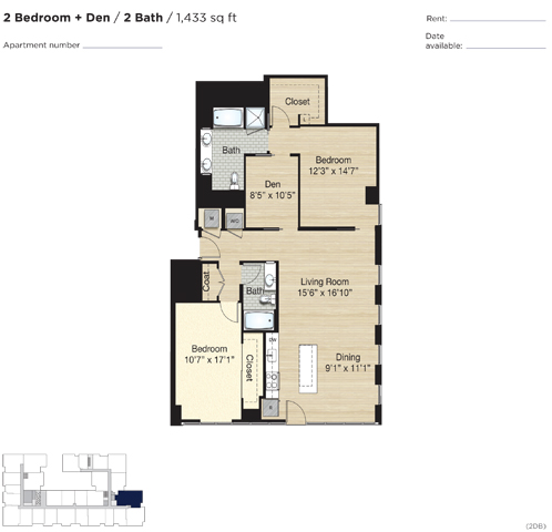 Apartment 0579 floorplan