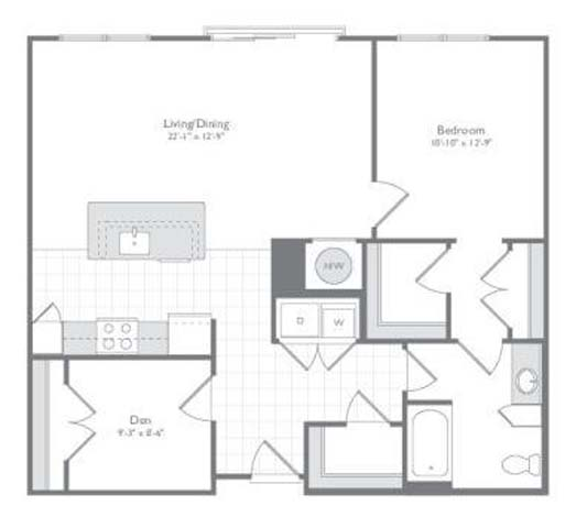 Md odenton flats170 p0233505 new 1bedad61037sf 2 floorplan
