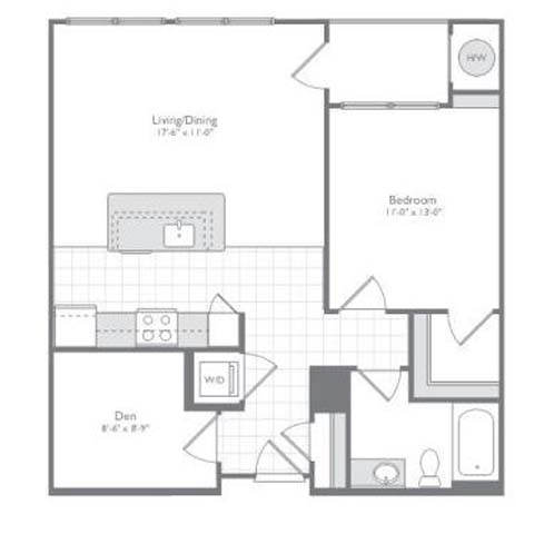 Md odenton flats170 p0233505 new 1bedad880sf 2 floorplan