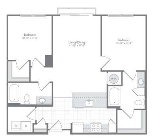 Md odenton flats170 p0233505 new 2bedb11058sf 2 floorplan