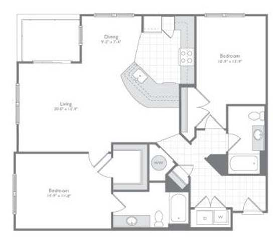 Md odenton flats170 p0233505 new 2bedb81277sf 2 floorplan