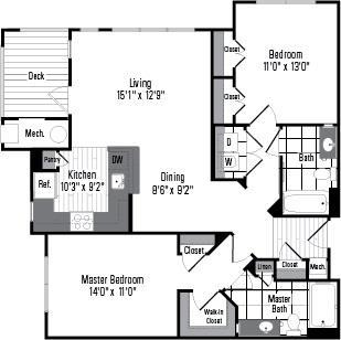 Md germantown millstoneatkingsview p0234113 2be 2 floorplan