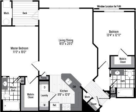 Md germantown millstoneatkingsview p0234113 2bf 2 floorplan