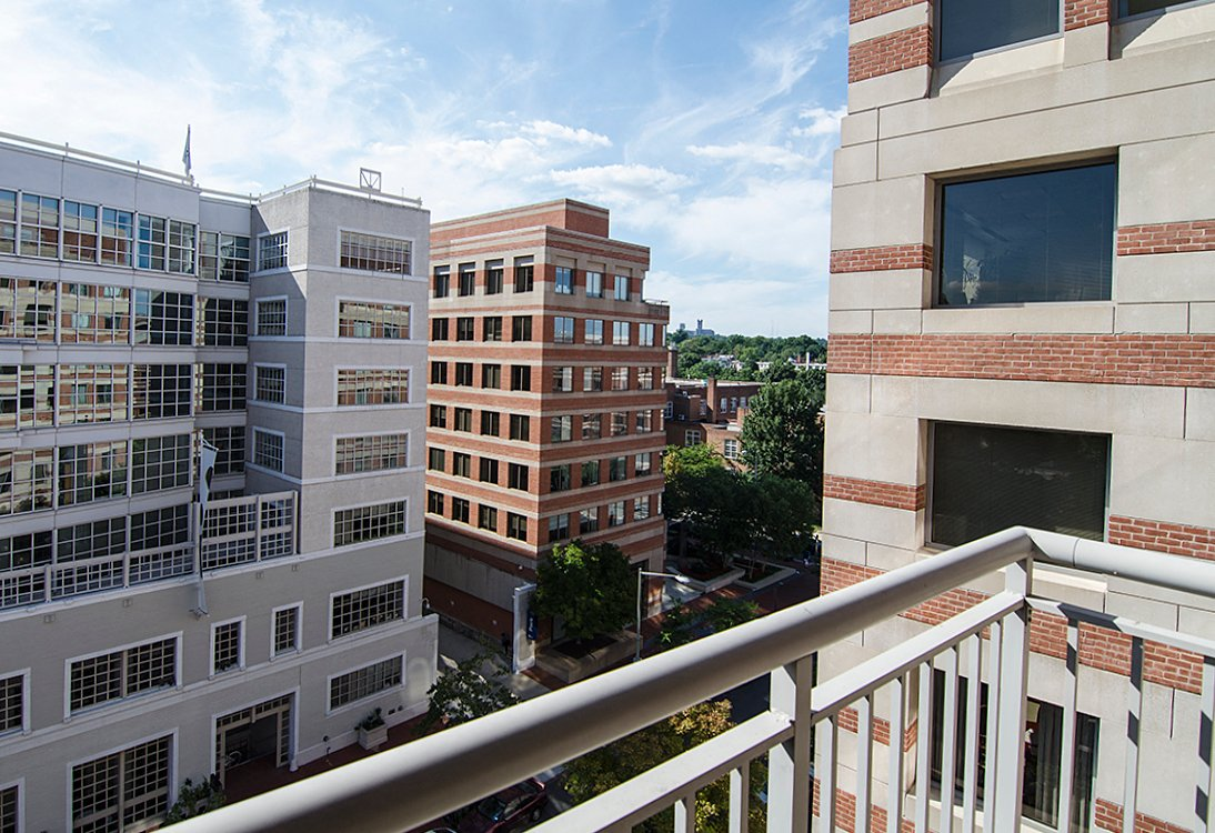 West End Residences apartments balcony in West End, Washington DC