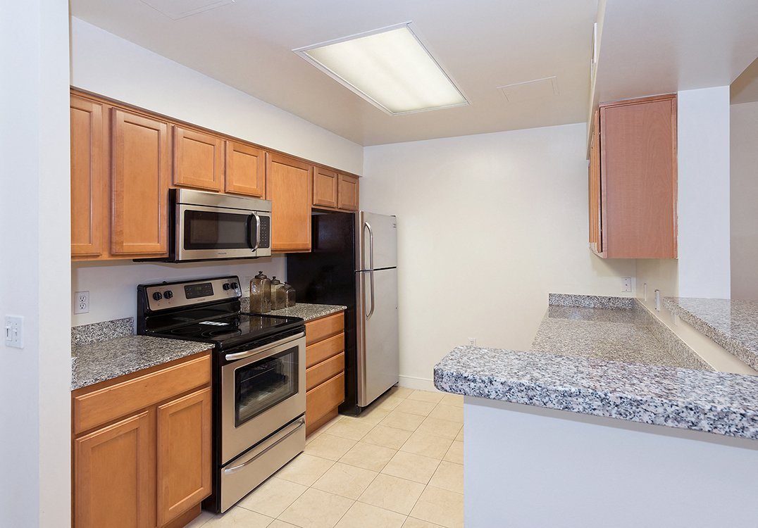 West End Residences apartments kitchen in West End, Washington DC