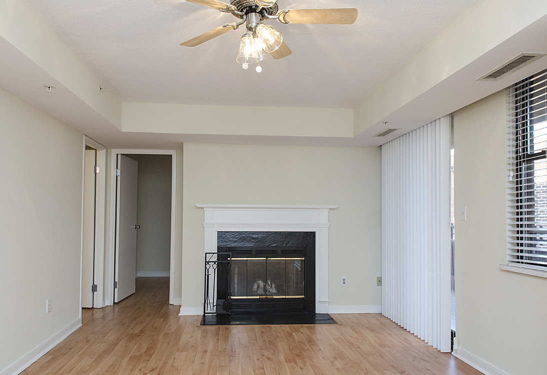 1633 Q Luxury apartments two bedroom fireplace in Dupont Circle Washington  DC