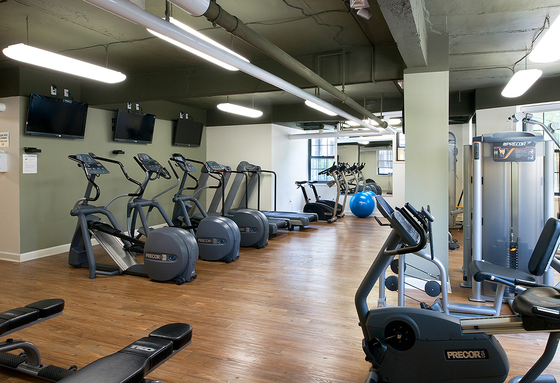Chalfonte apartments gym or fitness center near Columbia Heights and Adams Morgan Washington DC