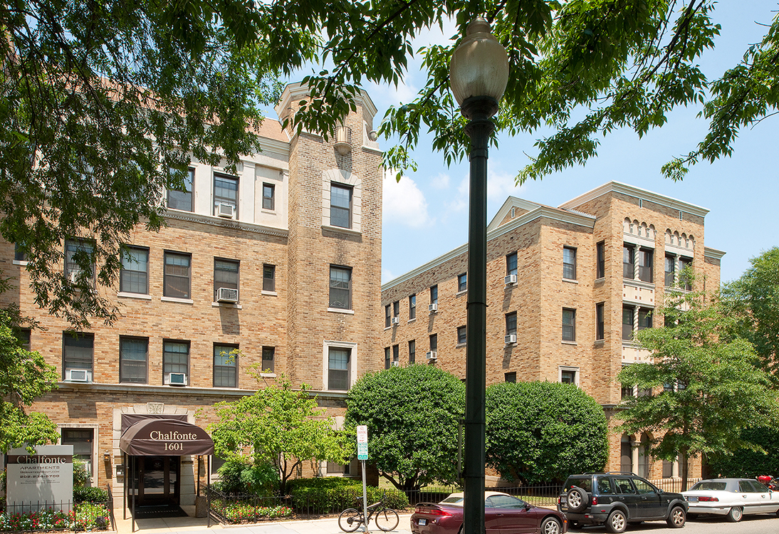 Chalfonte apartments near Columbia Heights and Adams Morgan Washington DC