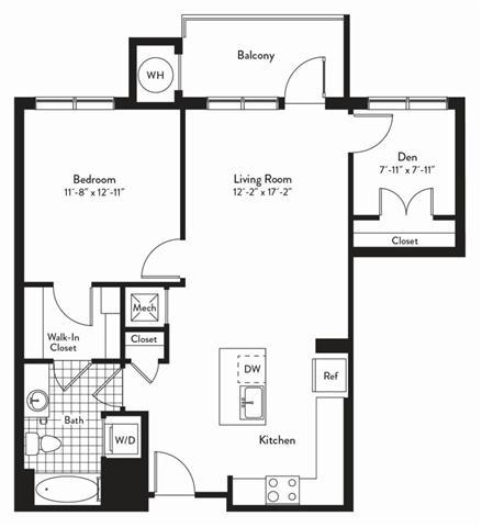Md gaithersburg cadenceatcrown p0235305 1bedroomsacapella 2 floorplan