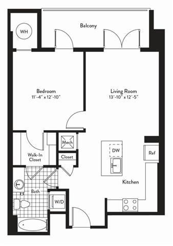 Md gaithersburg cadenceatcrown p0235305 1bedroomsalto 2 floorplan