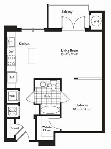 Md gaithersburg cadenceatcrown p0235305 1bedroomscannon 2 floorplan