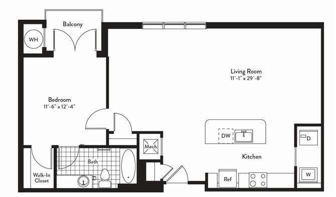 Md gaithersburg cadenceatcrown p0235305 1bedroomsduet 2 floorplan