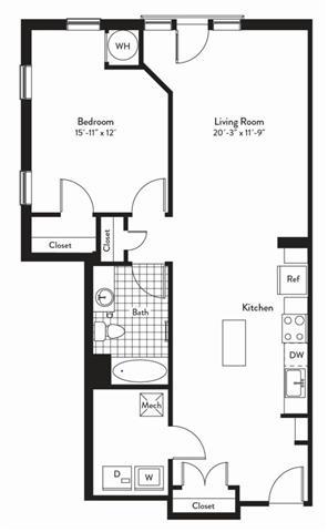Md gaithersburg cadenceatcrown p0235305 1bedroomsharmony 2 floorplan